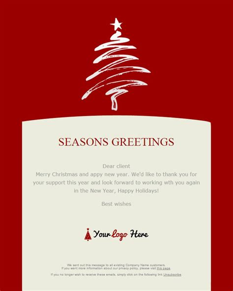 happy holidays email card template 104 20 free and new year email templates