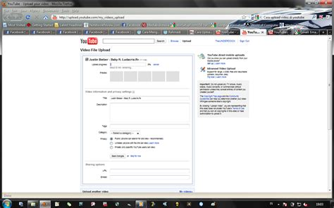 video cara upload video di youtube poetra panengah cara upload video di youtube