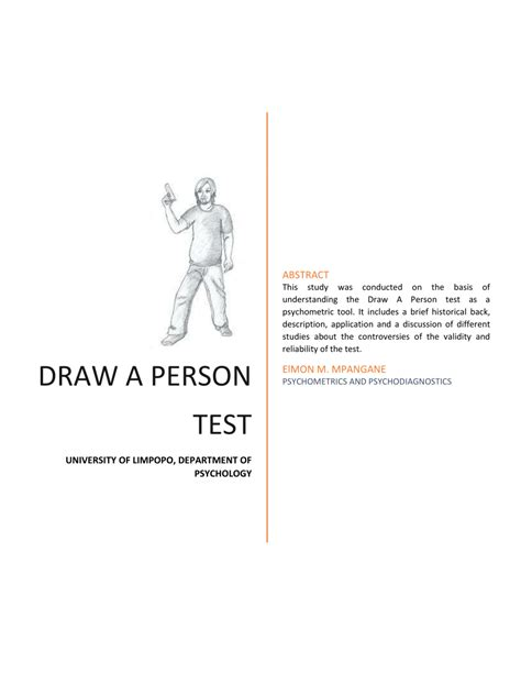 doodle drawing analysis draw a person test pdf available