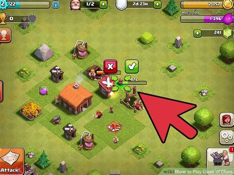 how to upgrade players in clash of clans how to play clash of clans with pictures wikihow