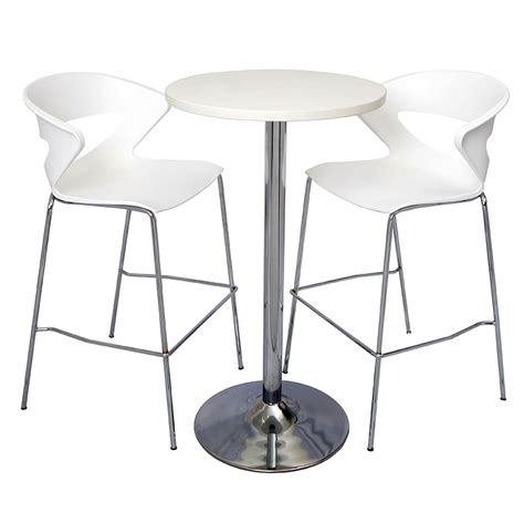 vogue high table and buchan bar stool package office