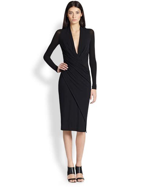 Wrap Around | wrap around black dress dress fa