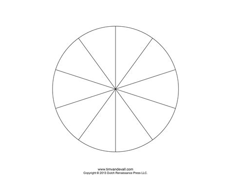 pie template circle with 24 sections template search results
