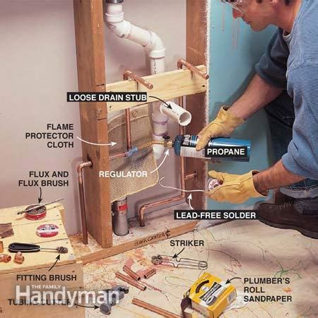 how to plumb a pedestal sink how to plumb a pedestal sink the family handyman