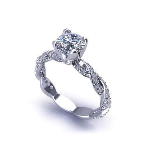 infinity engagement ring jewelry designs