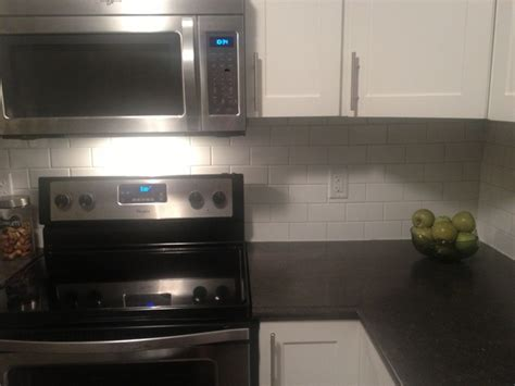 the chicopee home diy subway tile backsplash