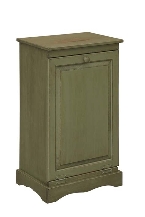 kitchen trash can cabinet trash can cabinet amish furniture connections amish furniture connections