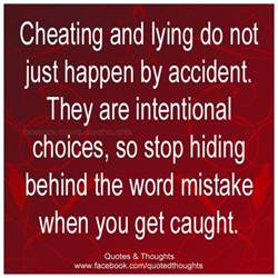 lying cheating quotes like success