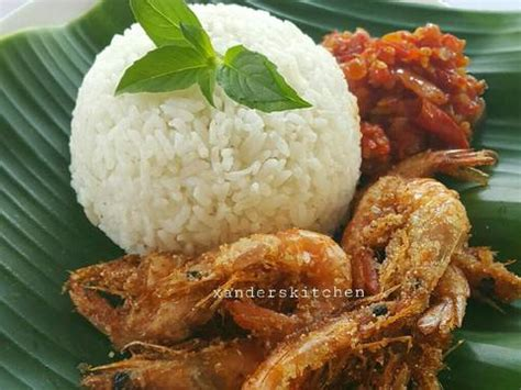 resep nasi udang sambal setan oleh xanders kitchen cookpad