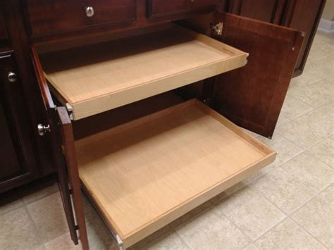 Pull Out Trays For Kitchen Cabinets Pull Out Shelves For Base Kitchen Cabinets Kitchen Drawer Organizers Toronto By Shelfgenie