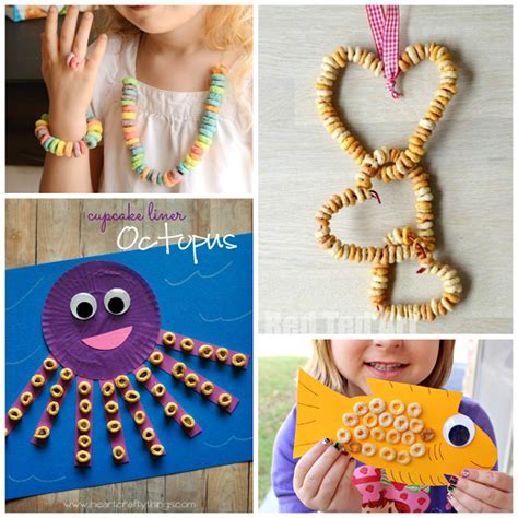 craft loops projects fantastic crafts using cereal crafty morning