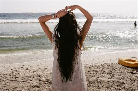 black hair for the beach long black beach hair long hairstyles how to