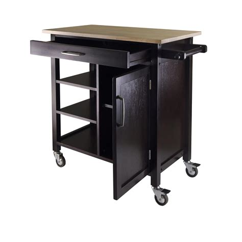 kitchen amazon amazon com winsome mali kitchen cart bar serving carts