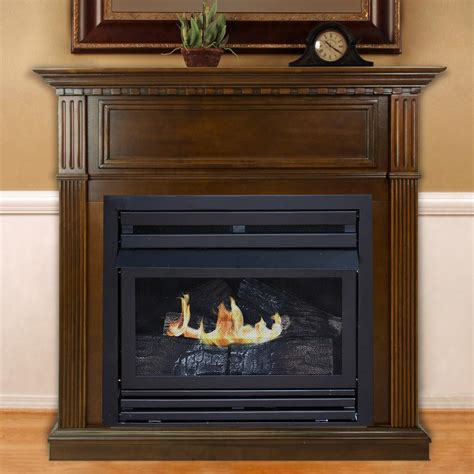 real frederick 72 in entertainment center ventless