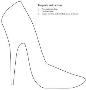 Shoe Template by Free Printable Stiletto Shoe Template Collage