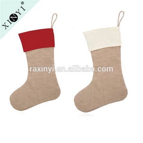 tag wholesale home decor list manufacturers of burlap christmas stocking buy