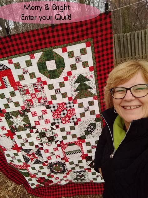 merry bright sew  pat sloans  love   quilts