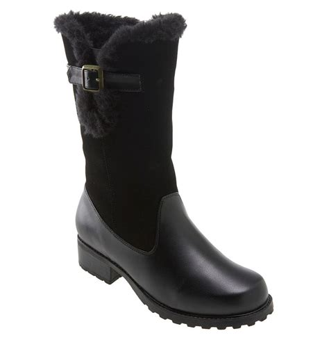 trotters boots trotters blizzard boot in black lyst