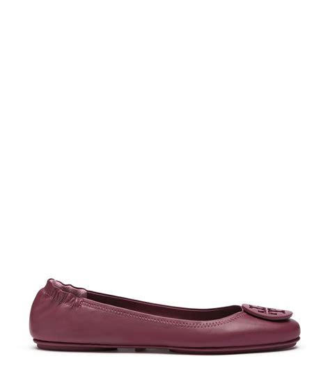 Sepatu Burch Flat Mini Travel burch logo minnie travel ballet flat leather in