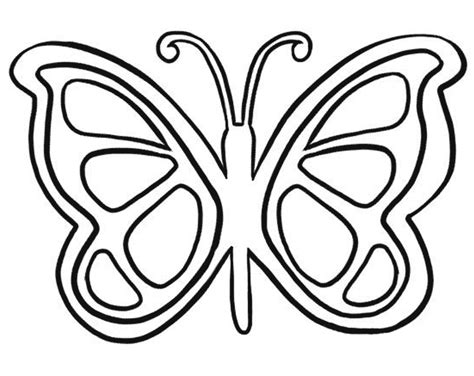 printable butterfly template printable butterfly template coloring home