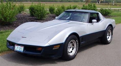 1981 corvette decal kit, exterior stripes (blue/silver