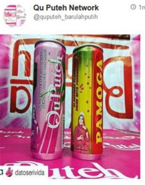 Collagen Qu Puteh qu puteh collagen drink now in tin mini me insights