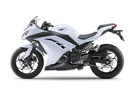 White Kawasaki by Pin 300 White On