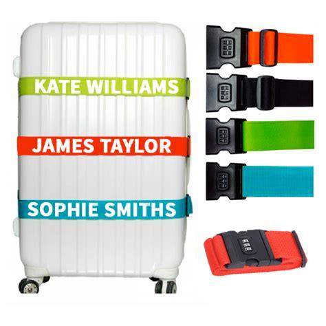 Luggage Belt Luggage Straps personalised combination luggage straps