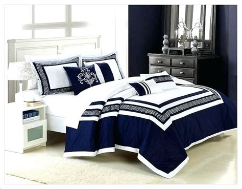 navy and white comforter sets queen navy blue comforters 8 piece navy blue white blocked king
