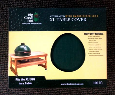 big green egg xl table covers country stove patio and spa