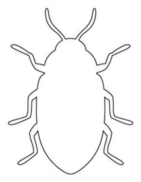 printable grasshopper stencils ant pattern use the printable pattern for crafts