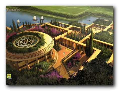 giardini di babilonia i giardini pensili di babilonia sette meraviglie