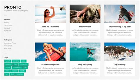 templates blogger galeria pronto template de blog con galer 237 a para wordpress kabytes