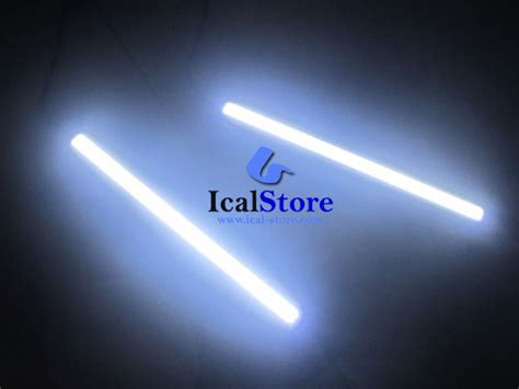 Led Drl Cob Plasma Biru Putih Blue Neon Fogl Murah lu daytime running light drl led plasma ical store ical store