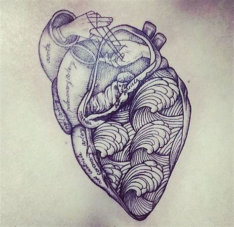 anatomically correct heart tattoo anatomically correct search