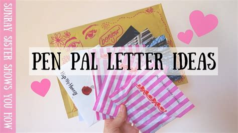 creative letter writing ideas www pixshark com images cute and creative letter ideas for a new pen pal sunray