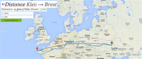 calcul de distance entre deux villes