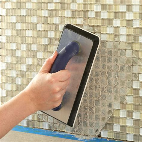 How To Do Glass Tile Backsplash by Install A Kitchen Glass Tile Backsplash