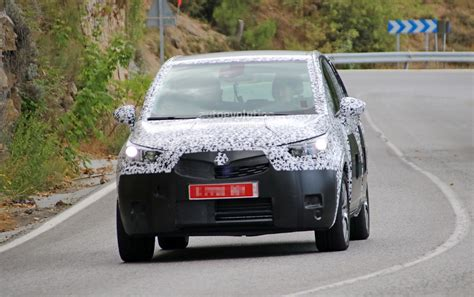 opel peugeot spyshots all new opel meriva reveals crossover look and