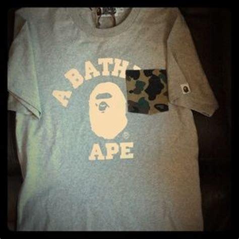 Jual Bathing Ape Bape Tshirt 1 Like Authentic 1 39 bape tops authentic bathing ape bape t shirt new w o tag from erika s closet on poshmark
