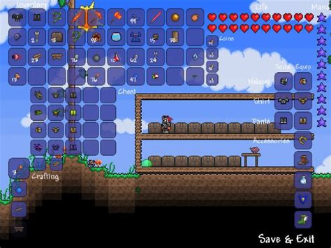 terraria bed recipe image gallery terraria bed