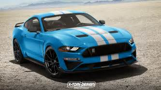Ford Shelby 2018 Shelby Gt350 Mustang Rendered With Facelift That Won