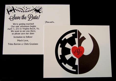 Wars Wedding Invitations