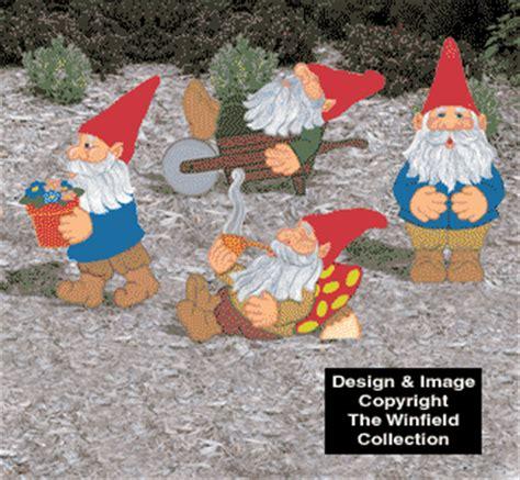 yard art woodcraft plans   small gnome pattern sets