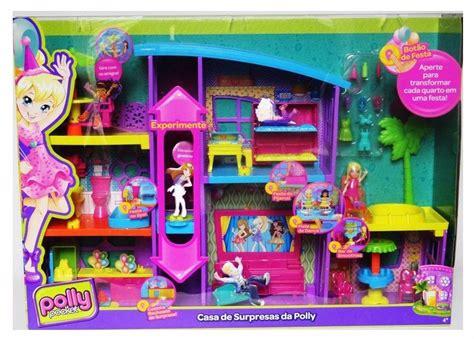 casa polly pocket polly pocket casa de surpresas da polly mattel r 389 99
