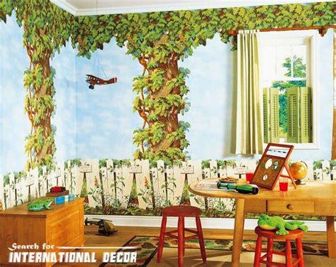 latest trends  childrens wallpaper  nursery