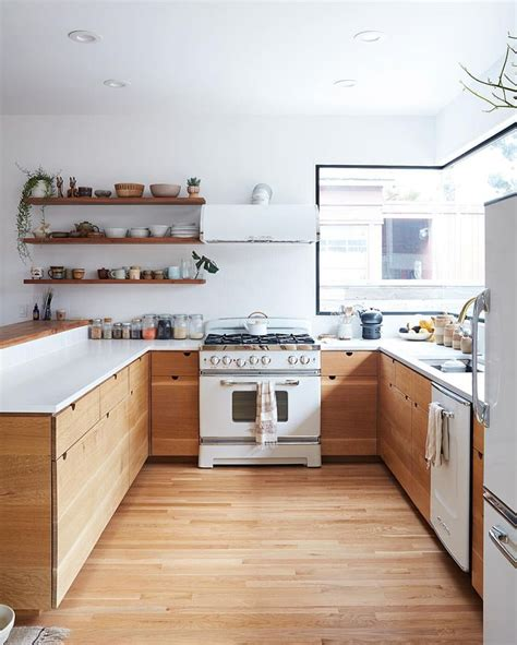 white and wood kitchen 17 best ideas about white appliances on white
