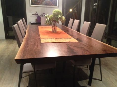 Live Edge Dining Room Table by Toronto Live Edge Harvest Tables Dining