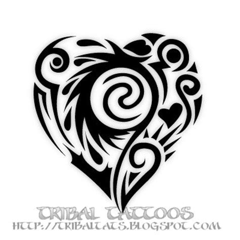 tribal heart tattoo meanings our 10 unique designs of tribal tattoos