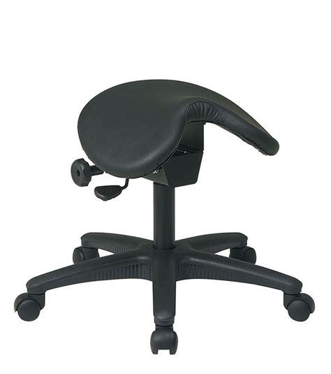 Saddle Seat Drafting Stool by Ergonomic Saddle Seat Stool W Seat Angle Adjustment